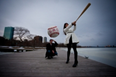 boston esplanade engagement session