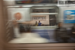 subway engagement session