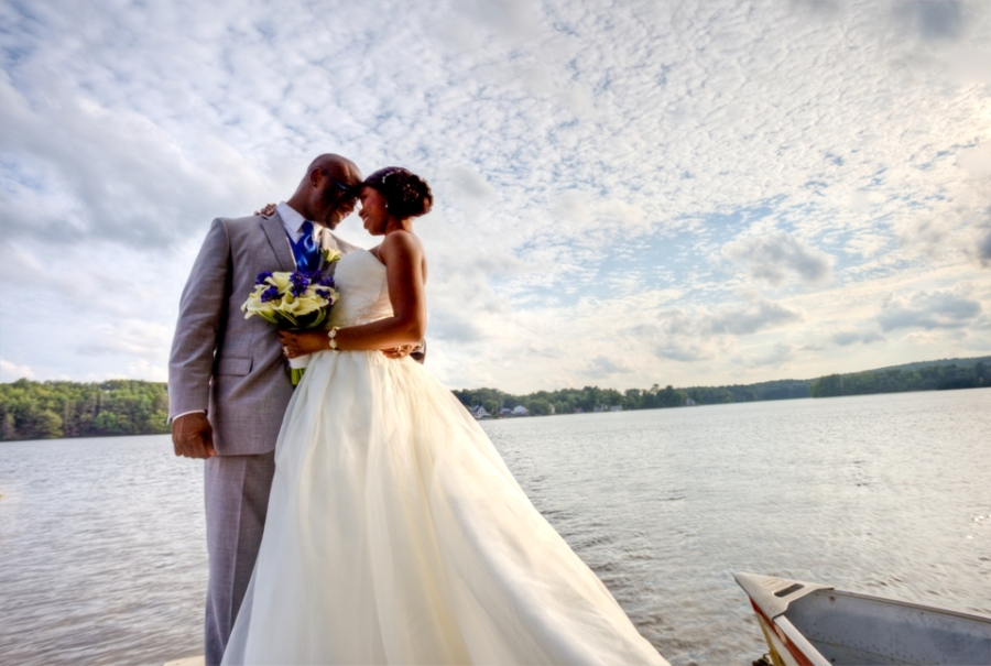 lake pearl luciano wedding photo