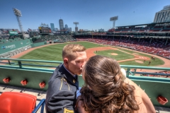 Boston Red Sox Fenway Park wedding