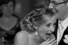 bride reaction wedding