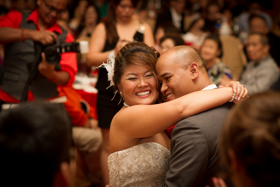 melissa and sung - first dance