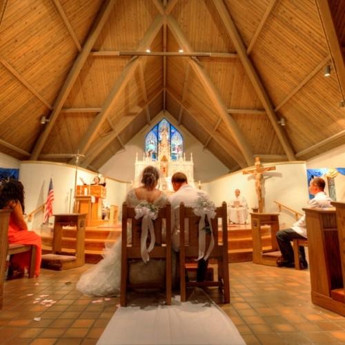 revere wedding church ceremony