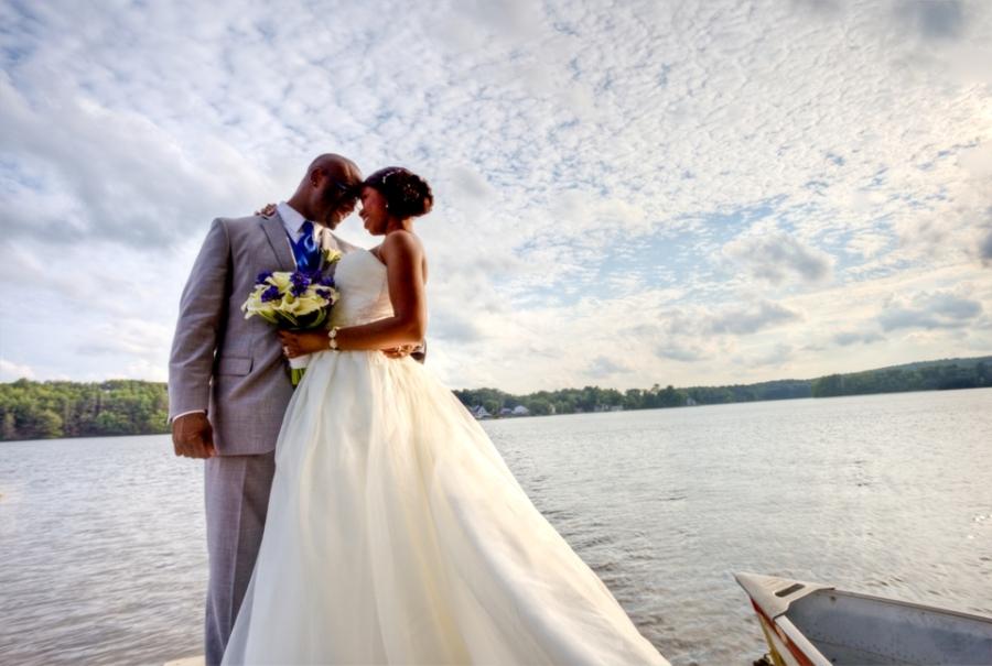 lake pearl luciano wedding photo