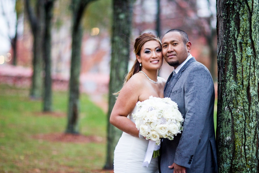 sinora - wedding portrait umass lowell