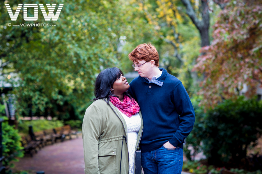 northeastern engagement session