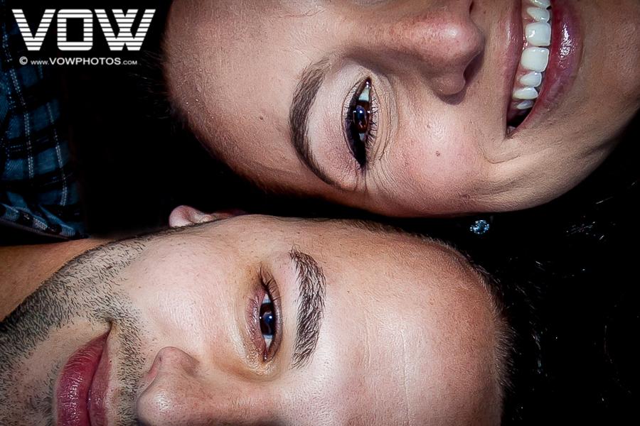 close up profile picture engagement