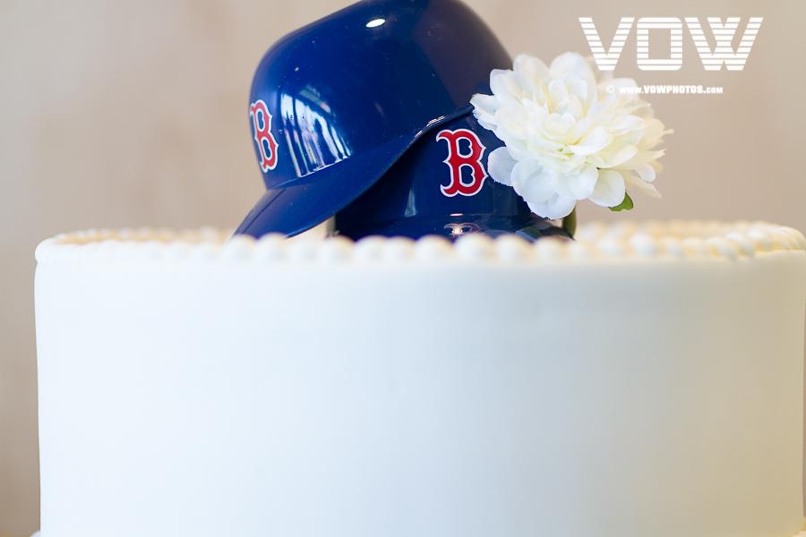 Boston Red Sox Cake Decoration