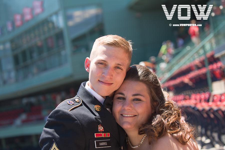 Fenway Park Boston Wedding