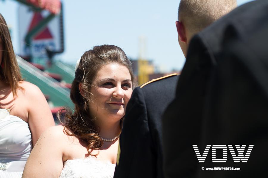 Fenway Park Wedding Ceremony