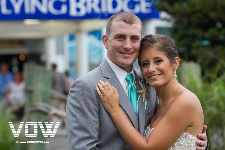 flying bridge wedding