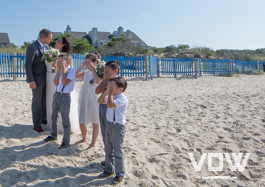 cape cod flower girl and ring bearer
