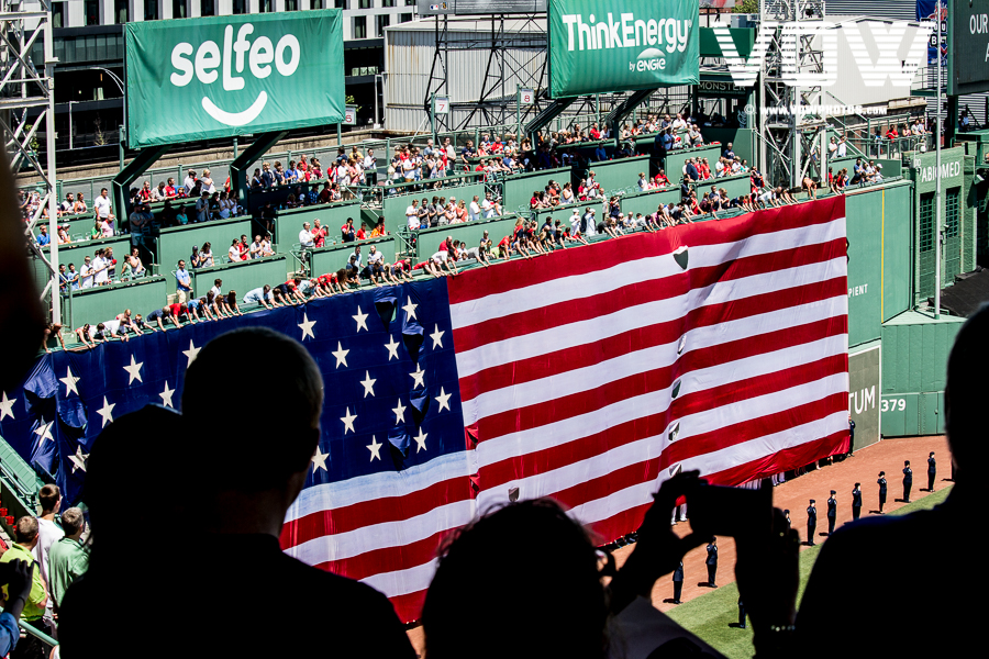 July 4th at Fenway Park