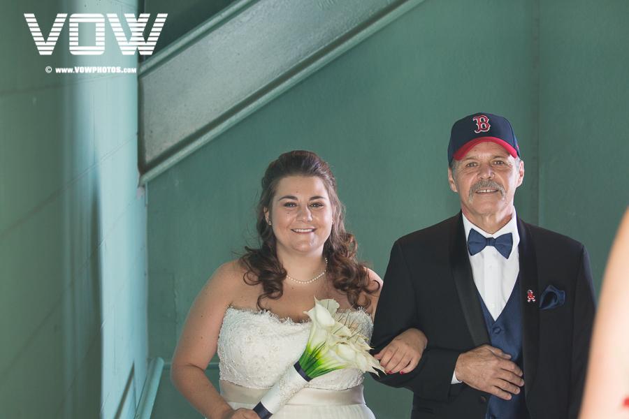 Red Sox Wedding