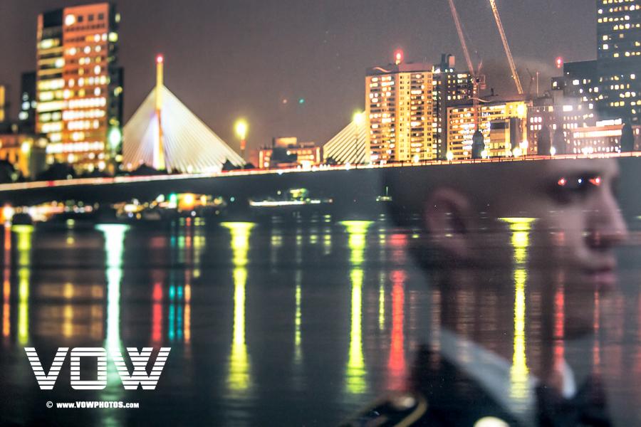 Boston Skyline Reflection