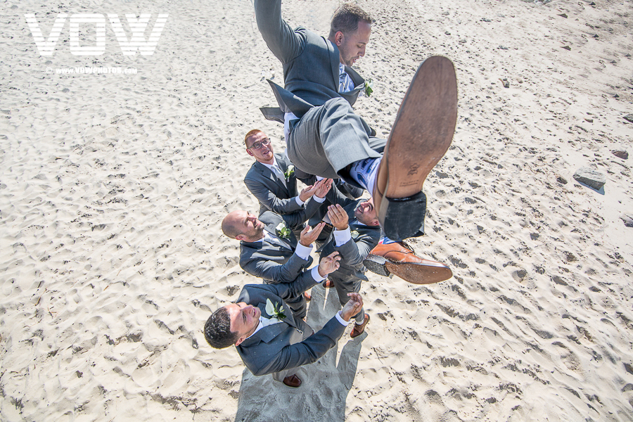 groomsmen cape cod wedding