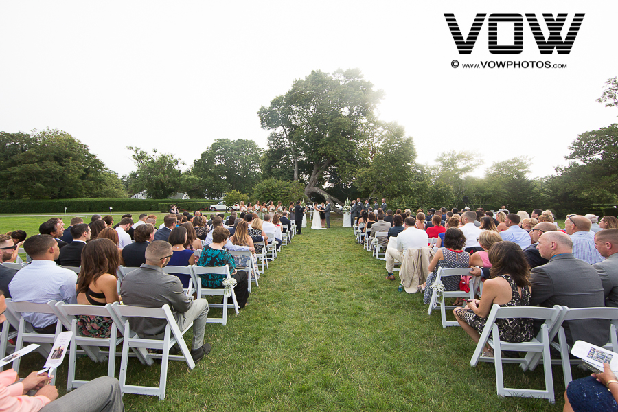 ceremony at ocean edge resort cape cod