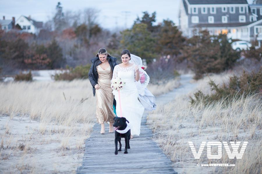 bride-and-dog-wedding-day