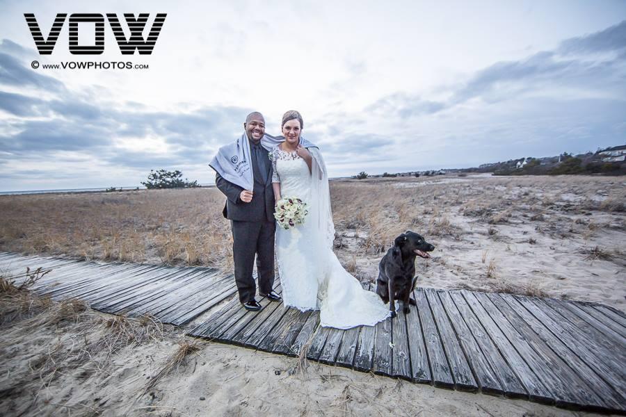 bride-and-groom-with-dog-wedding