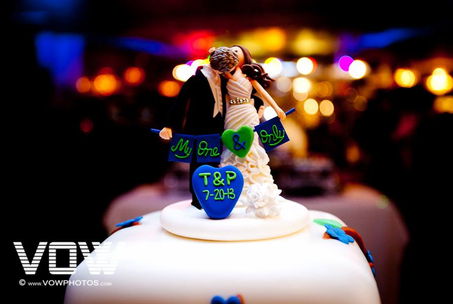 pailin city wedding cake