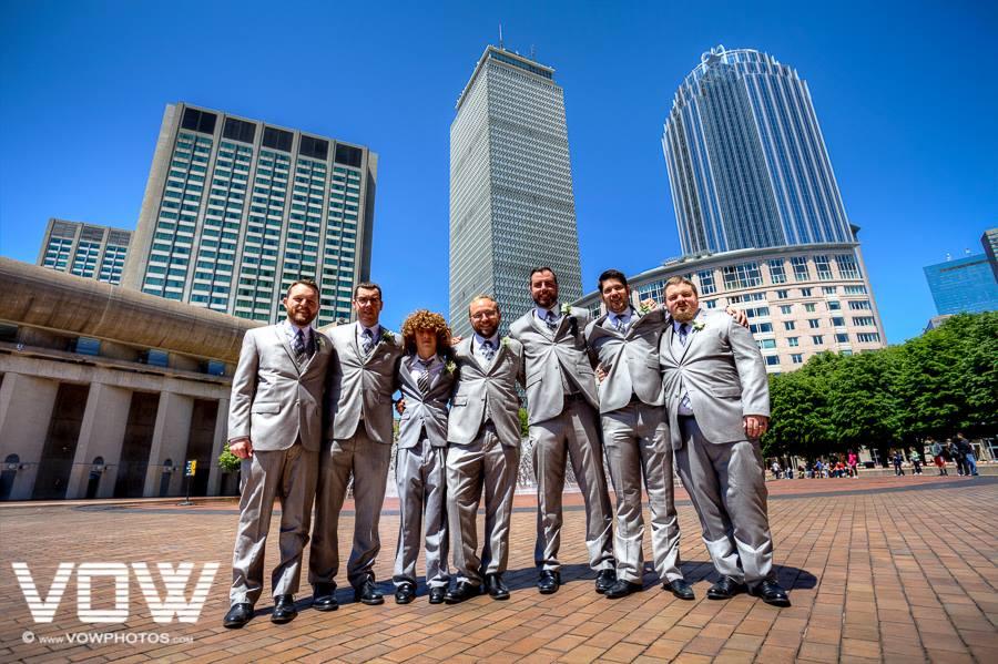 prudential center groomsmen wedding party