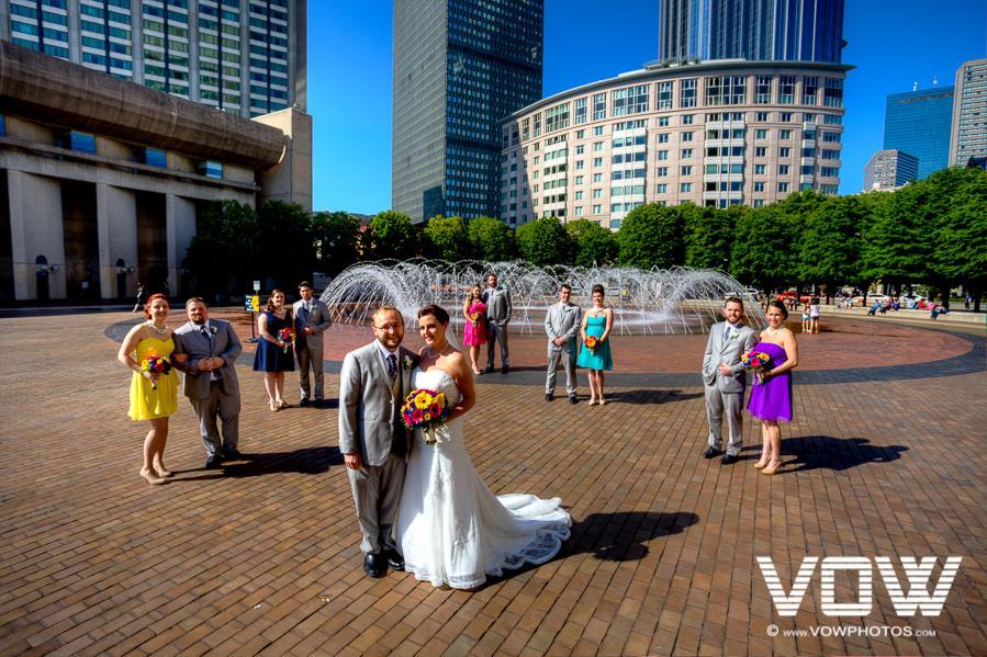 prudential center wedding