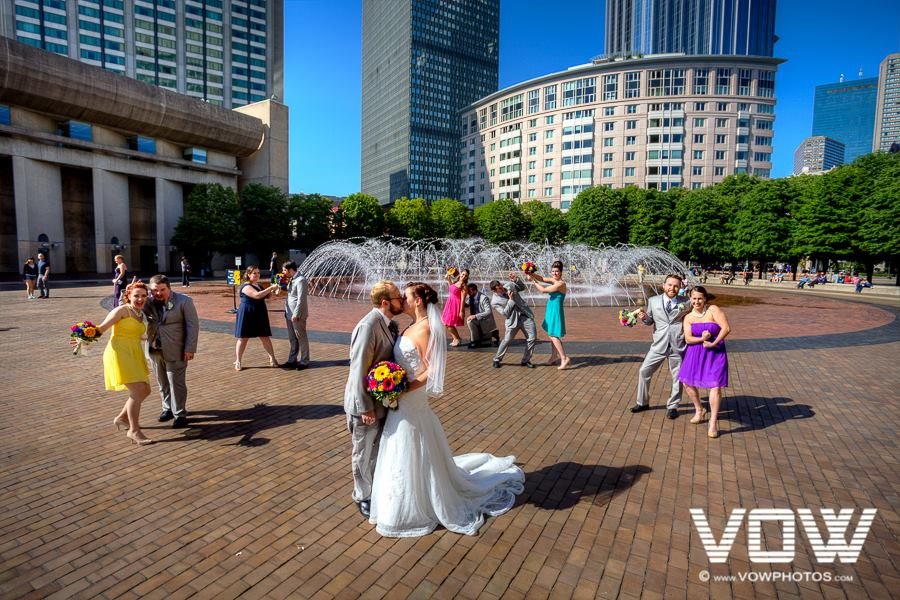 wedding party prudential center