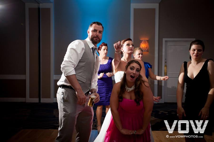 wedding reception hilton boston back bay